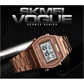 SKMEI Jam Tangan Digital Pria - 1328 - Rose Gold/Black - 4