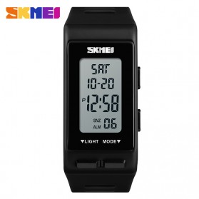 SKMEI Jam Tangan Digital Sporty - 1362 - Black