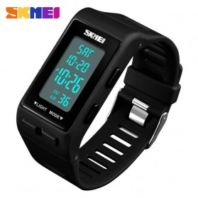 SKMEI Jam Tangan Digital Sporty - 1362 - Black - 2