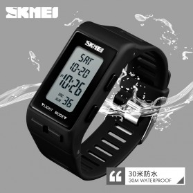 SKMEI Jam Tangan Digital Sporty - 1362 - Black - 4
