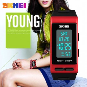 SKMEI Jam Tangan Digital Sporty - 1362 - Black - 5