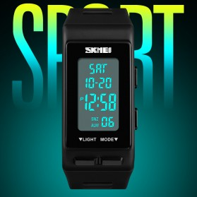 SKMEI Jam Tangan Digital Sporty - 1362 - Black - 7