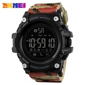SKMEI Jam Tangan Sporty Smartwatch Bluetooth - 1385 - Camouflage