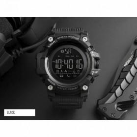 SKMEI Jam Tangan Sporty Smartwatch Bluetooth - 1385 - Black - 2