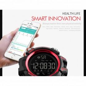 SKMEI Jam Tangan Sporty Smartwatch Bluetooth - 1385 - Black - 3