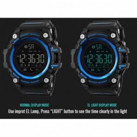 SKMEI Jam Tangan Sporty Smartwatch Bluetooth - 1385 - Black - 5