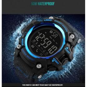 SKMEI Jam Tangan Sporty Smartwatch Bluetooth - 1385 - Khaki - 4