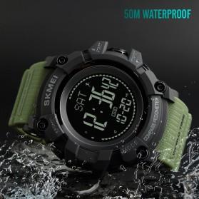SKMEI Jam Tangan Digital Sporty Pria Pedometer Calorie Compass - 1356 - Black - 4