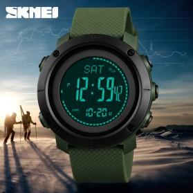 SKMEI Jam Tangan Digital Sporty Pria Pedometer Calorie Compass - 1418 - Black - 3