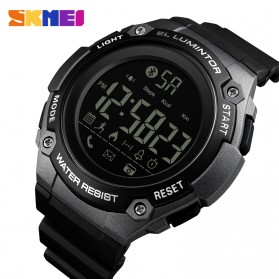 SKMEI Jam Tangan Sporty Smartwatch Bluetooth - 1347 - Titanium Gray