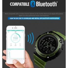SKMEI Jam Tangan Sporty Smartwatch Bluetooth - 1347 - Black - 4