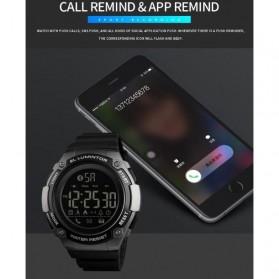 SKMEI Jam Tangan Sporty Smartwatch Bluetooth - 1347 - Black - 5