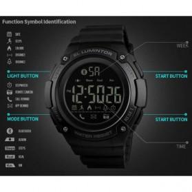 SKMEI Jam Tangan Sporty Smartwatch Bluetooth - 1347 - Black - 7