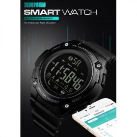 SKMEI Jam Tangan Sporty Smartwatch Bluetooth - 1347 - Black - 9