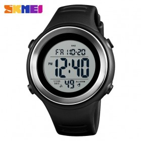 SKMEI Jam Tangan Digital Pria - 1394 - Black White