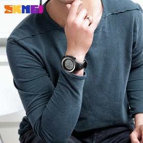 SKMEI Jam Tangan Digital Pria - 1394 - Black White - 6