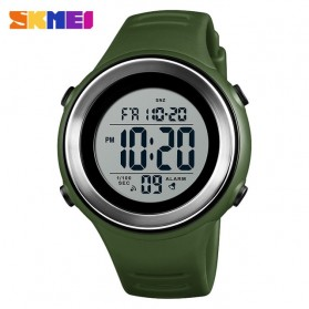 SKMEI Jam Tangan Digital Pria - 1394 - Army Green