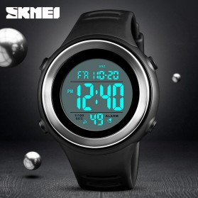 SKMEI Jam Tangan Digital Pria - 1394 - Army Green - 4