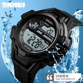 SKMEI Jam Tangan Digital Pria - 1383 - Black - 4