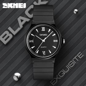 SKMEI Jam Tangan Kasual Analog Wanita - 1422 - Black/Black - 5