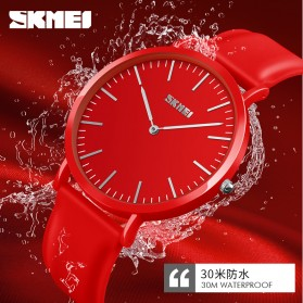 SKMEI Jam Tangan Analog Wanita Couple - 9179 Small - Red - 4