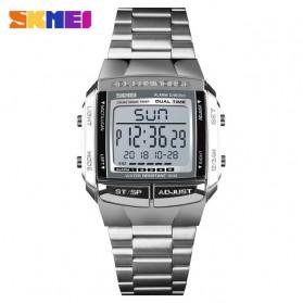 SKMEI Jam Tangan Digital Pria - 1381 - Silver