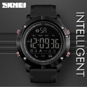 SKMEI Jam Tangan Olahraga Smartwatch Bluetooth - 1425 - Black - 2