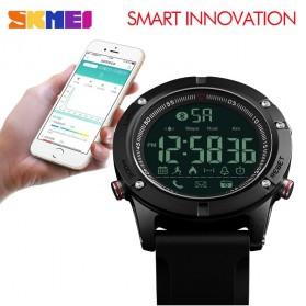 SKMEI Jam Tangan Olahraga Smartwatch Bluetooth - 1425 - Black - 4