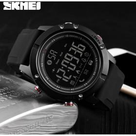 SKMEI Jam Tangan Olahraga Smartwatch Bluetooth - 1425 - Black - 5