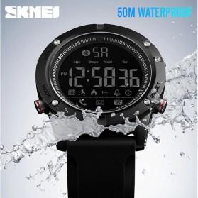 SKMEI Jam Tangan Olahraga Smartwatch Bluetooth - 1425 - Black - 6