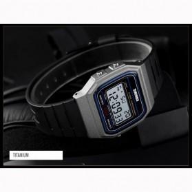 SKMEI Jam Tangan Digital Elegant Pria - 1412 - Titanium Gray - 2