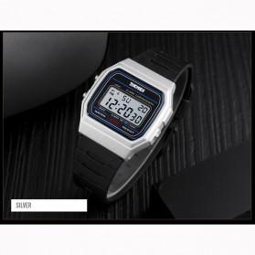 SKMEI Jam Tangan Digital Elegant Pria - 1412 - Black with White Side - 2