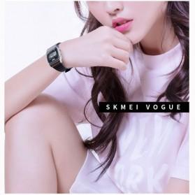 SKMEI Jam Tangan Digital Elegant Pria - 1412 - Black - 5