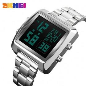 SKMEI Jam Tangan Modern Digital Pria - 1369 - Silver
