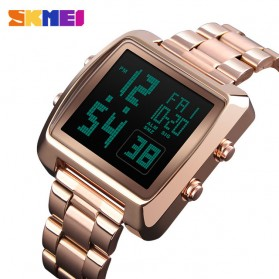 SKMEI Jam Tangan Modern Digital Pria - 1369 - Rose Gold