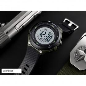 SKMEI Jam Tangan Digital Sporty Pria - 1441 - Black White - 4