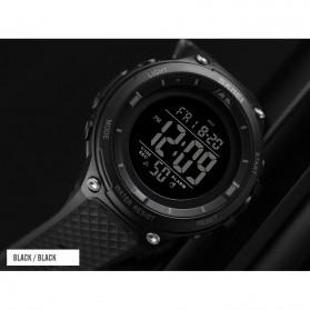 SKMEI Jam Tangan Digital Sporty Pria - 1441 - Black White - 5