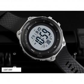 SKMEI Jam Tangan Digital Sporty Pria - 1441 - Black White - 8