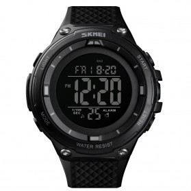 SKMEI Jam Tangan Digital Sporty Pria - 1441 - Black/Black
