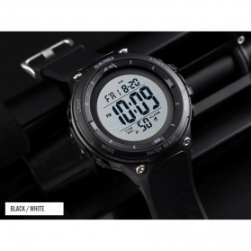 SKMEI Jam Tangan Digital Sporty Pria - 1441 - Black/Black - 4