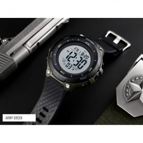SKMEI Jam Tangan Digital Sporty Pria - 1441 - Black/Black - 5