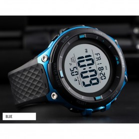 SKMEI Jam Tangan Digital Sporty Pria - 1441 - Black/Black - 6