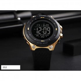 SKMEI Jam Tangan Digital Sporty Pria - 1441 - Black/Black - 7