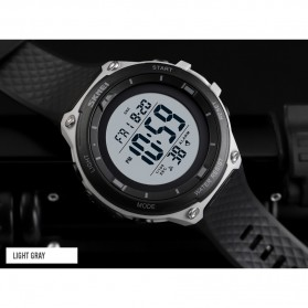 SKMEI Jam Tangan Digital Sporty Pria - 1441 - Black/Black - 8