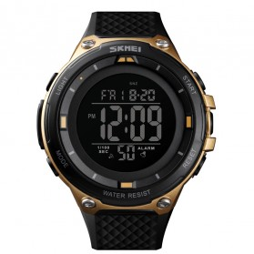 SKMEI Jam Tangan Digital Sporty Pria - 1441 - Golden