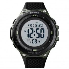 SKMEI Jam Tangan Digital Sporty Pria - 1441 - Army Green