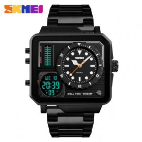 SKMEI Vogue Jam Tangan Digital Analog Pria - 1392 - Black