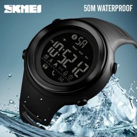 SKMEI Jam Tangan Olahraga Smartwatch Bluetooth - 1396 - Black/Silver - 6