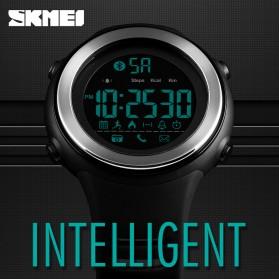 SKMEI Jam Tangan Olahraga Smartwatch Bluetooth - 1396 - Black/Silver - 8