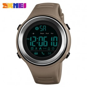 SKMEI Jam Tangan Olahraga Smartwatch Bluetooth - 1396 - Brown